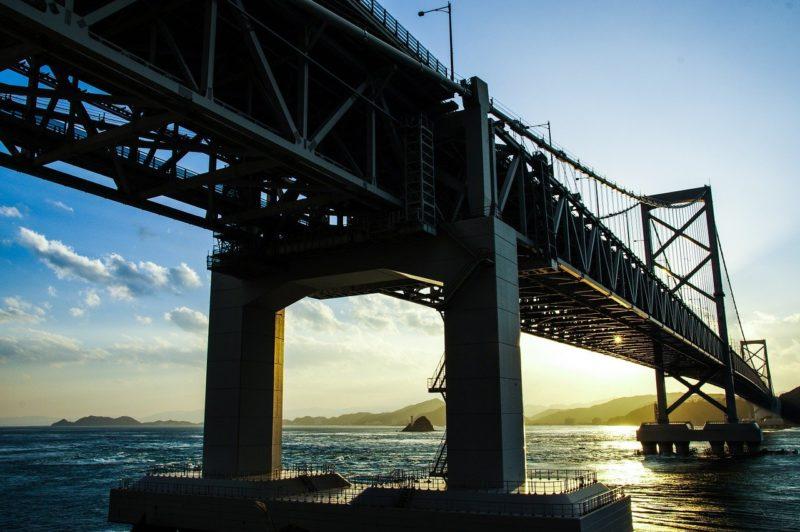 橋脚周りは理想的ポイント
